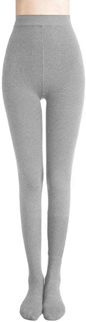 Romastory Women's Winter Warm Pantyhose Tights Elastic Fleece Lined Leggings Pants