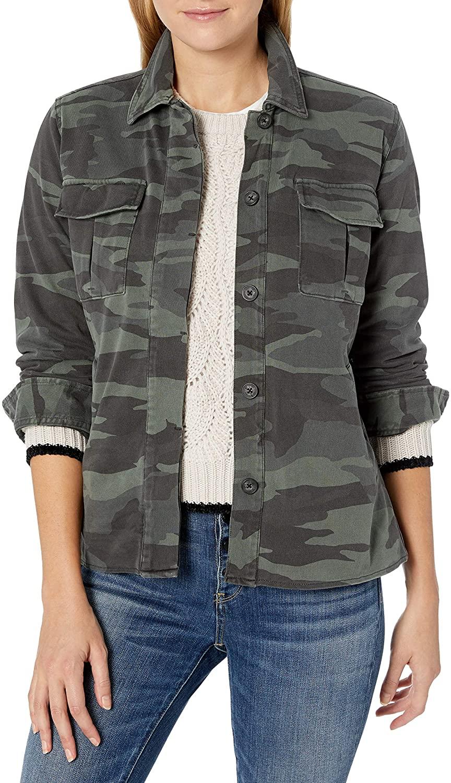 Splendid Women's Cargo Shirt Jacket