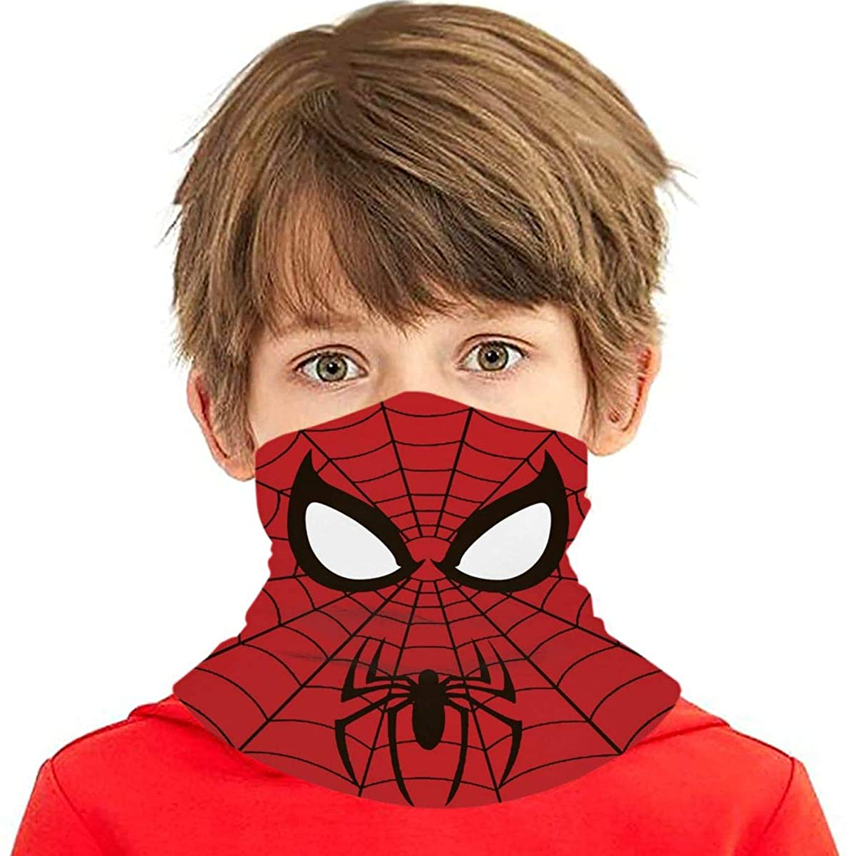 Aven-ge Super Heroes Bandanas Balaclavas Dustproof Bandanas Outdoor Headband Reusable Sports Scarf for Teenager