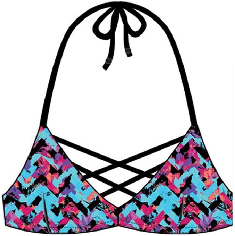 DORINA Bora Bora Women's Light Padded Bikini Top D00063M - Blue
