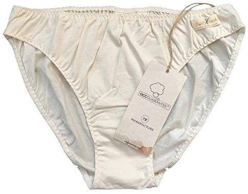 Body4Real Pure Organic Cotton Womens Bikini Underwear(Medium)