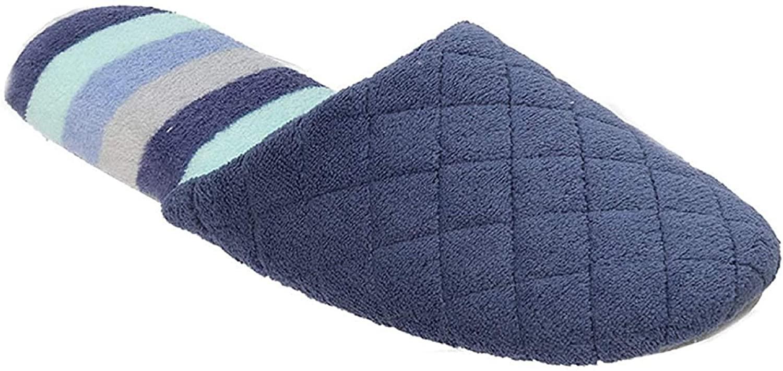 Dearfoams Women's Memory Foam Indoor/Outdoor Scuff Slippers
