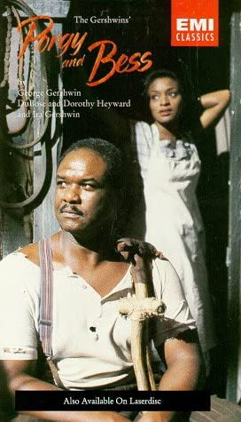 The Gershwins Porgy & Bess / Rattle, White, Haymon, Glyndebourne Opera [VHS]
