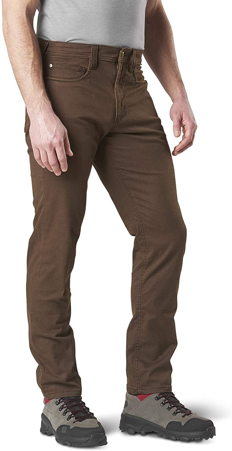5.11 Tactical Men's Defender-Flex Slim Pant, Cavalry Twill, Yoke Utility Pocket, Style 74464