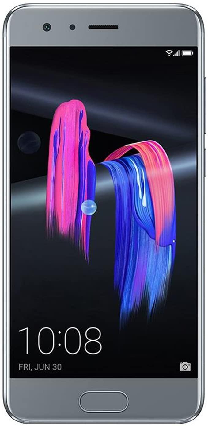 Huawei Honor 9 6GB RAM 128GB ROM 3D Curved Glass OTA Update LTE Smartphone Octa Core 2.3GHz 5.1 Inch 19201080 3200mAh 20MP (Grey)