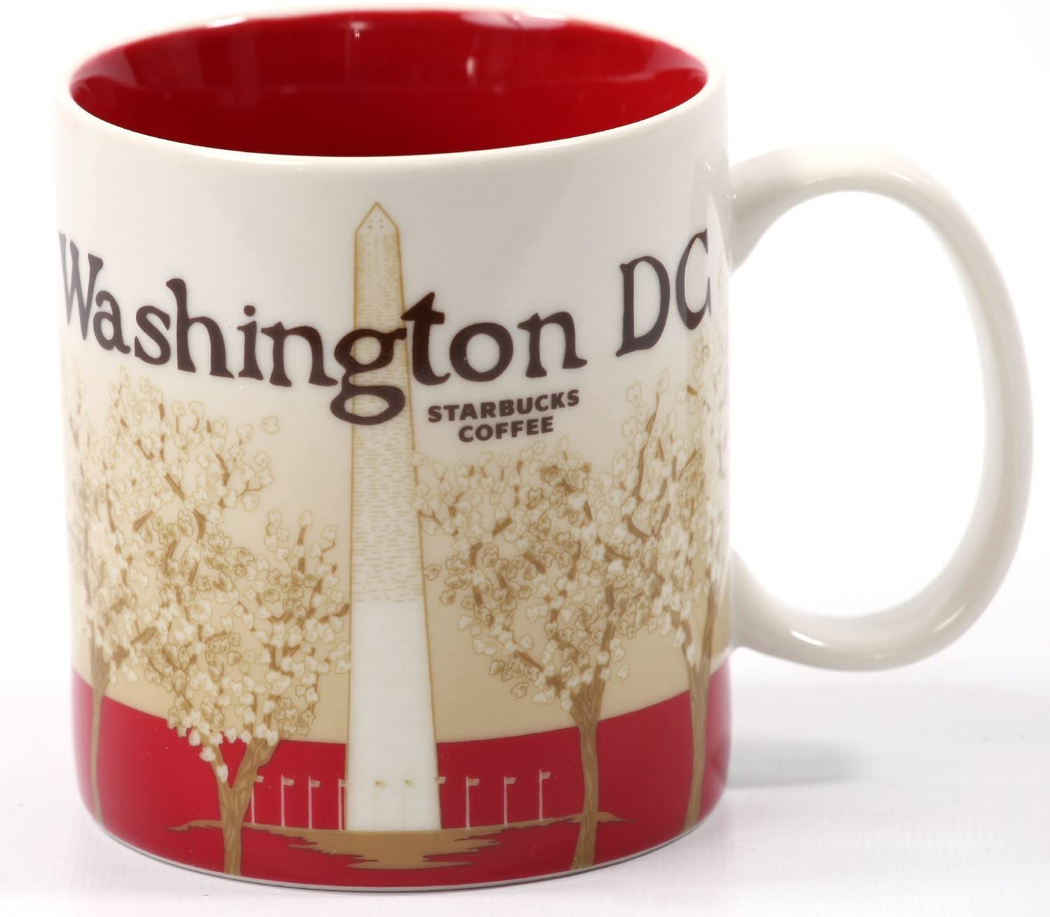 Starbucks Coffee 2011 Washington DC Mug, 16 fl oz