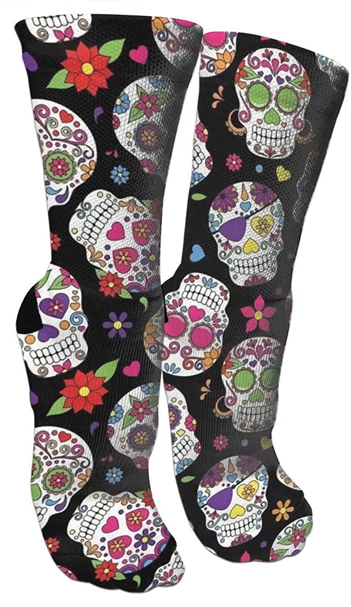 Crazy Socks Dead Sugar Skull 3D Crew Socks