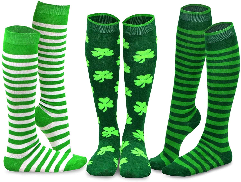 TeeHee Holiday Seasonal Women's Cotton Knee High Socks