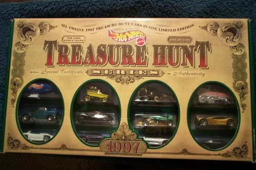Hot Wheels 1997 Treasure Hunt Set