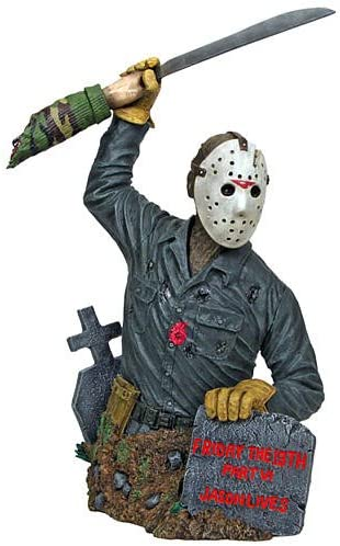 Horror Friday The 13th Part VI Jason Voorhees Mini Bust
