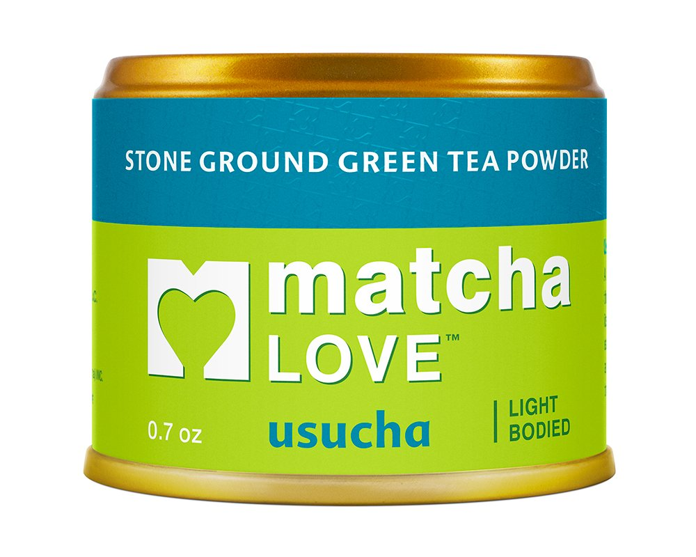 Matcha Love Ceremonial Green Tea Usucha 0.7 Ounce Canister (Pack of 1) Unsweetened, Zero Calories