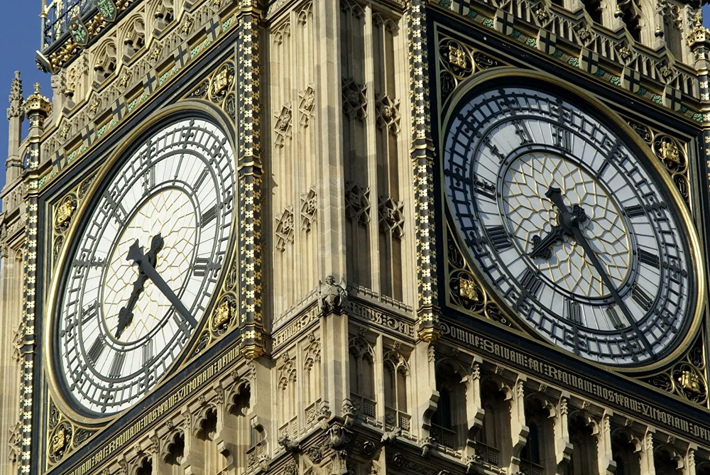 Iconic Arts Big Ben Close Up Laminated Poster 24x36