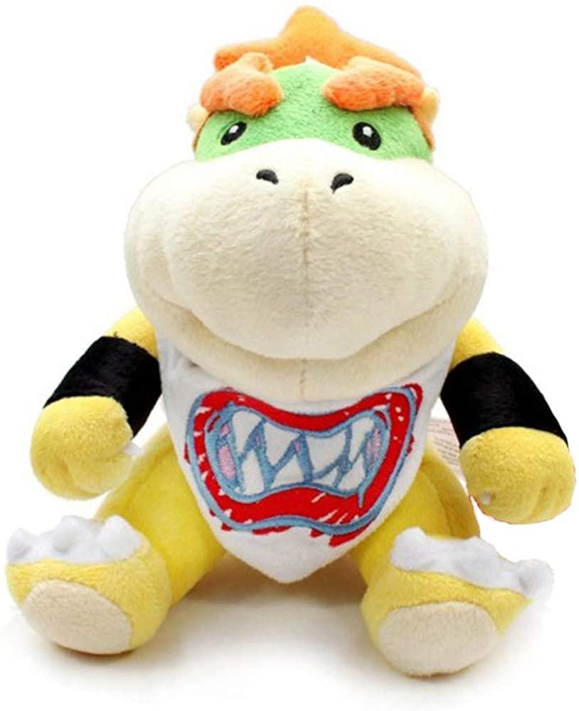 Super Mario bros Plush Toys 18cm Bowser JR Koopa Bowser Dragon Plush Doll Brothers Soft Plush