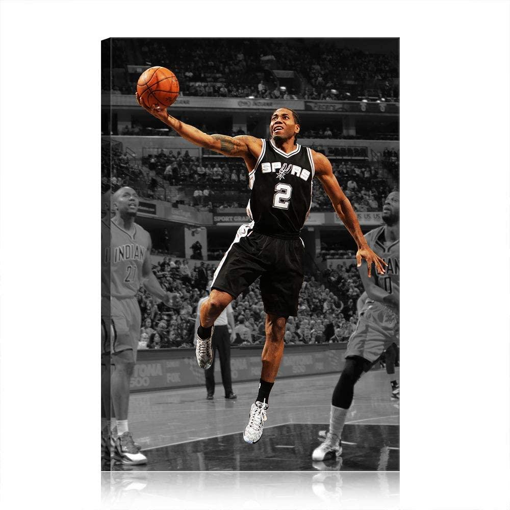 KIKASISA Leonard NBA Toronto Raptors Kawhi Canvas Prints Poster Wall Artwork