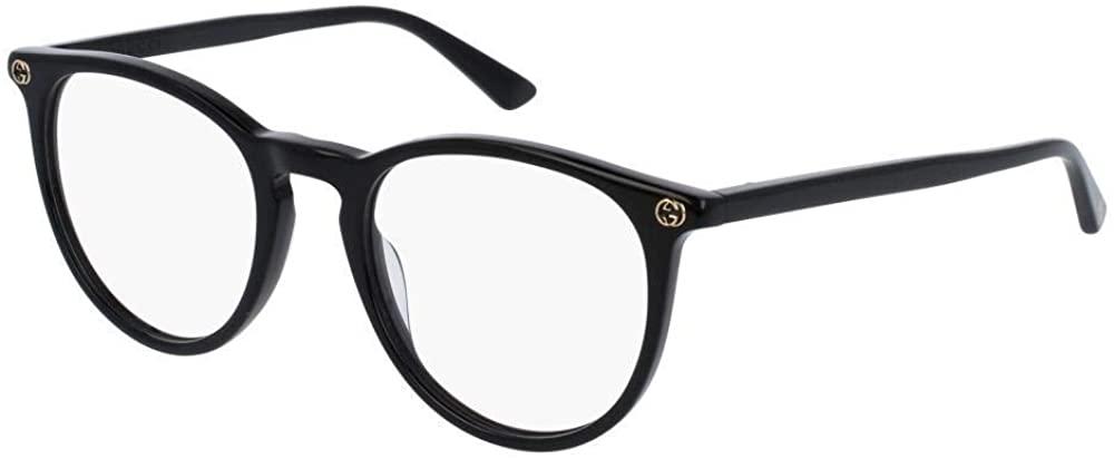 Gucci GG0027O Eyeglasses 001 Black 50mm