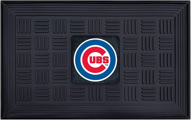 FANMATS MLB Chicago Cubs Vinyl Door Mat