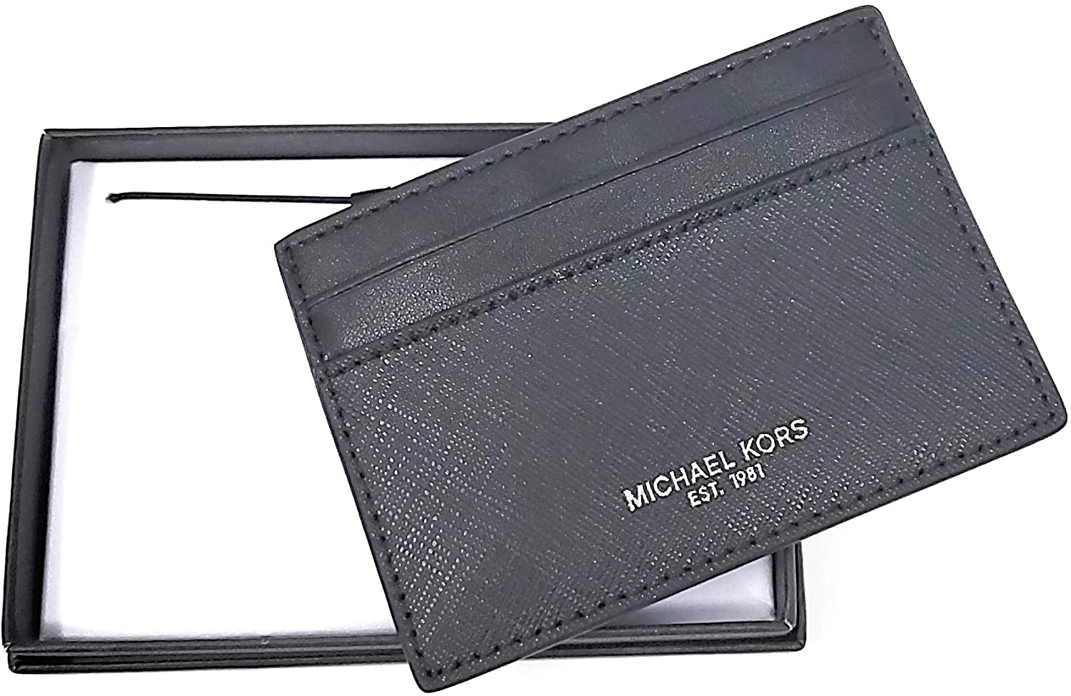 Michael Kors Andy Leather Card Case/Wallet
