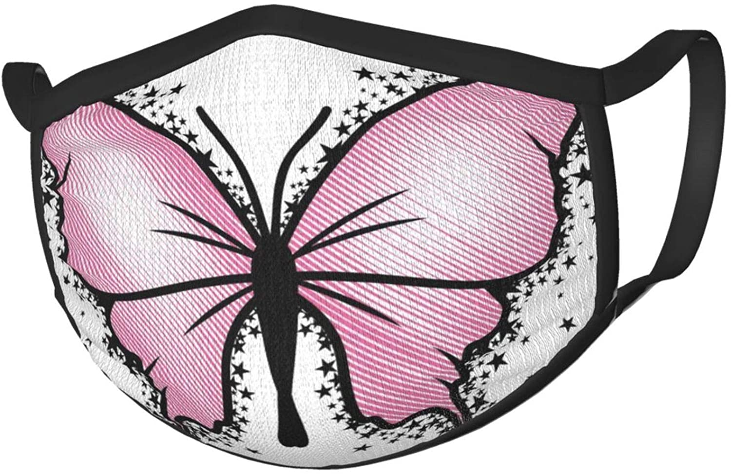 Butterfly Bow Star Face Mask Fashion Reusable Washable Unisex Mouth Cover Dustproof Windproof Protective Protection Face-Macks
