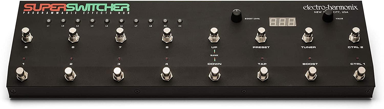 Electro Harmonix Super Switcher Switching Control Center w/EHX Power Supply!
