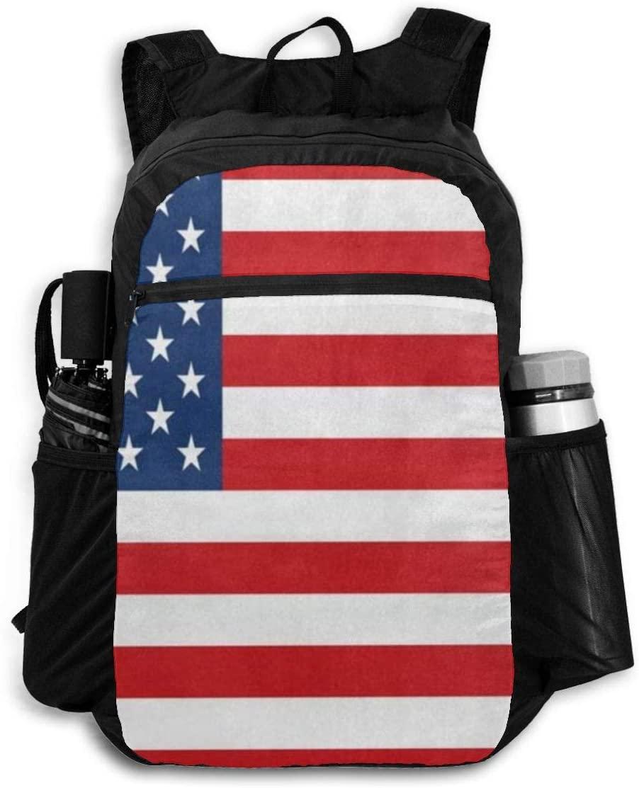 Computer Backpack American Flag Independence Day Fashion Shoulder Backpacks Bag Bookbag Daypack