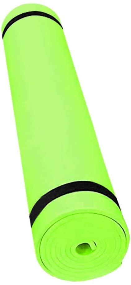 16888 Premium Yoga Mat 4mm Non Slip Exercise & Fitness Mat Sport Mats Gymnastic Pilates Fitness Mat Non-Slip Waterproof Exercise for Home Gym Floor Workouts Equipment