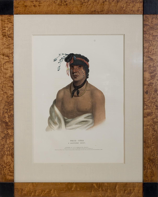 Wesh-Cubb, A Chippeway Chief