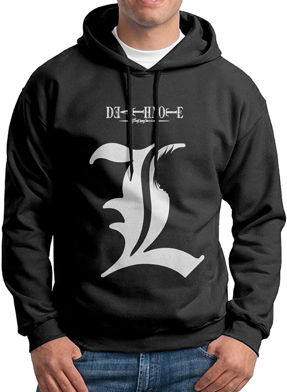 Lemonnnen Death Note Mens Fashion Hoodies Casual Sweatshirt