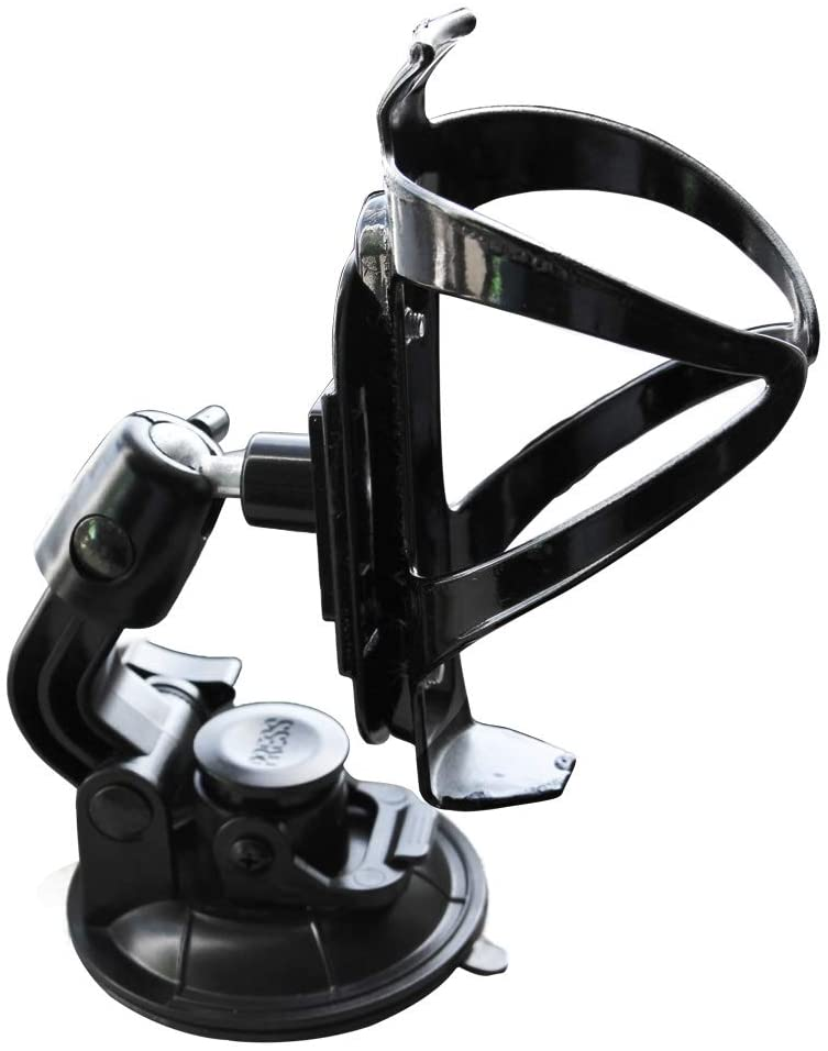 Onefeng Sports SUP Water Bottle Holder Adjustable Drink Cup Holder Suction Cup Mount