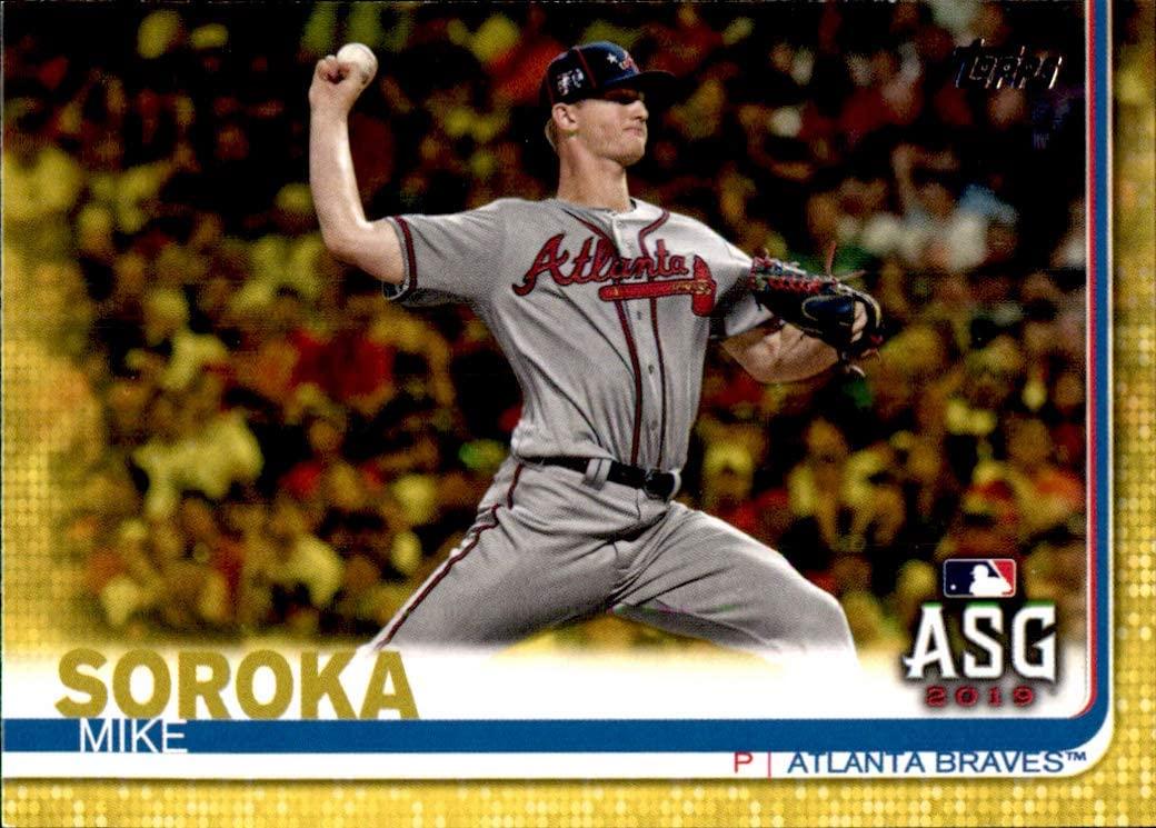2019 Topps Update YELLOW WALGREENS #US20 Mike Soroka ATLANTA BRAVES MLB Baseball Trading Card (Box226JLa)