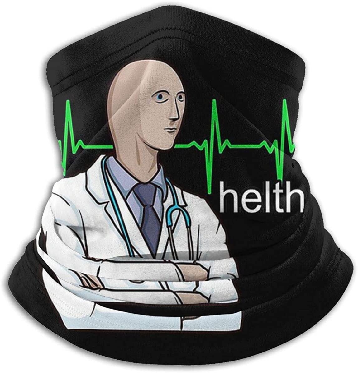 Helth Meme Bandana Face Mask Balaclava Unisex Seamless Face Cover Mask Headband Headwear