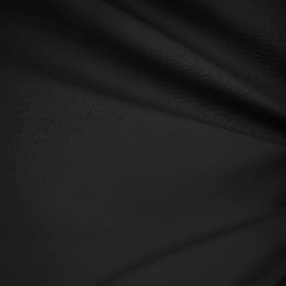 Black 60 Wide Premium Cotton Blend Broadcloth Fabric by The Yard by Fabric Bravo