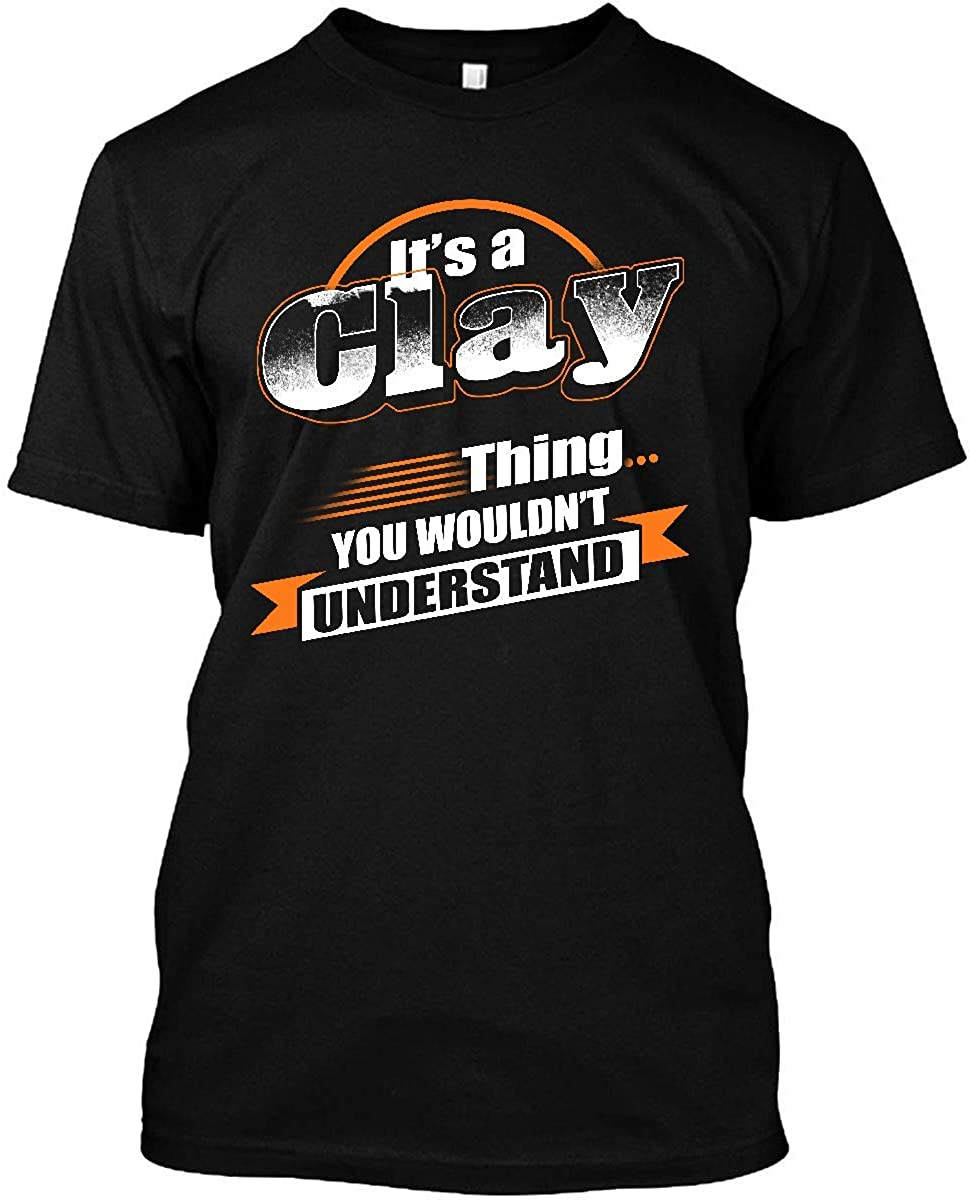 BR - HALLOWEEN Its a Clay Thing You Wouldnt Understand Unisex T-Shirt