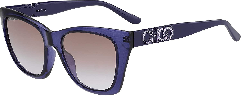 Sunglasses Jimmy Choo Rikki/G/S 0B3V Violet/Qr Brown Gradient
