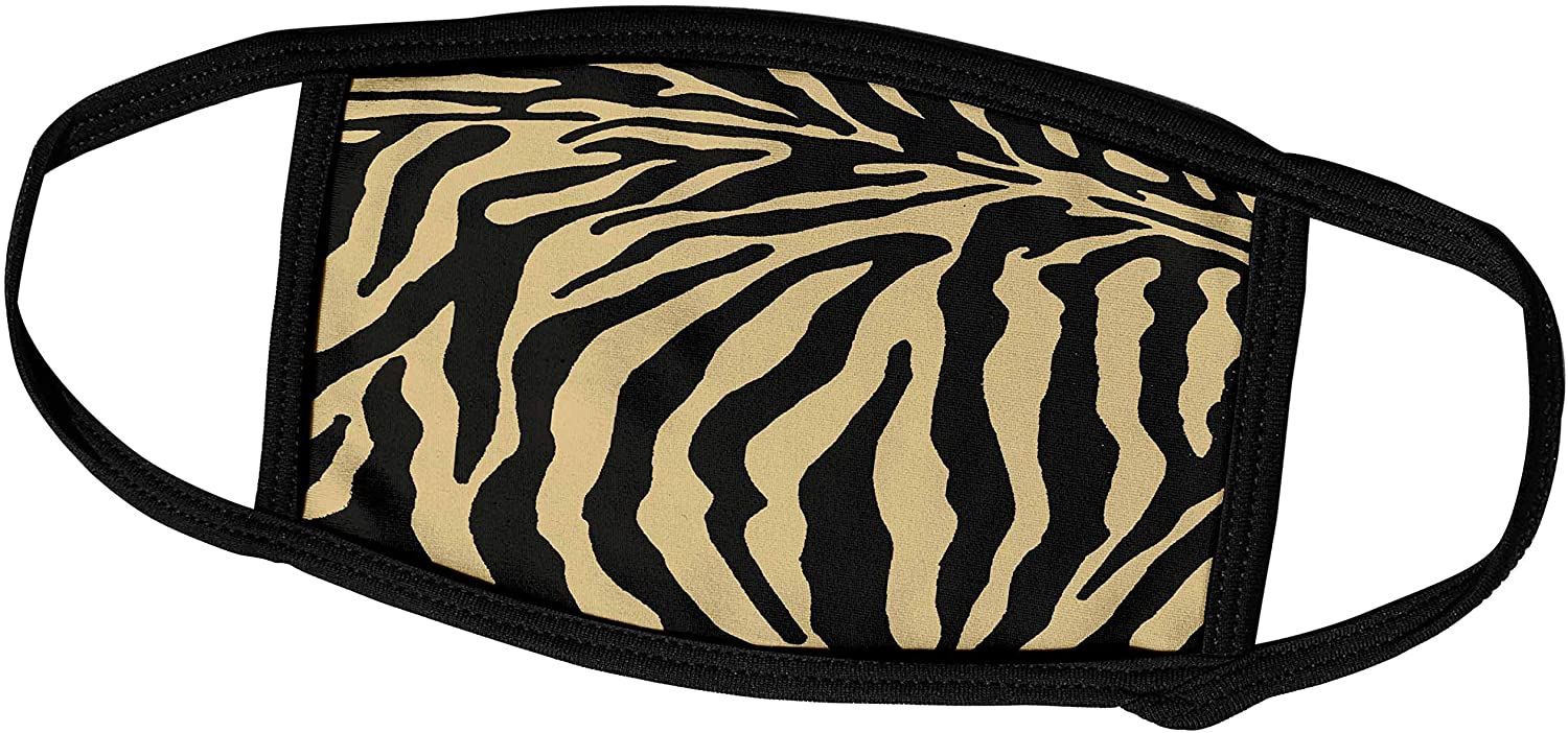 3dRose Patricia Sanders Creations - Tiger Print - Face Covers (fc_25735_3)