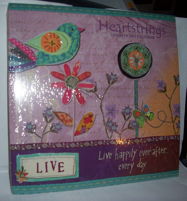2013 16 Month Wall Calendar - Heartstrings
