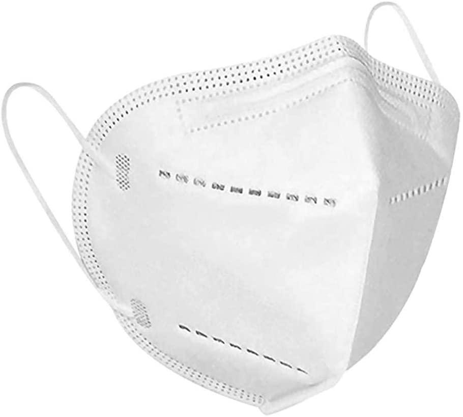 Disposable Anti-Dust Face Protection, Unsex New Design Face Bandanas White - 100PCS