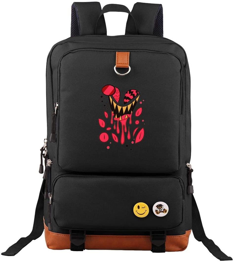 Hazbin Hotel Unsix Backpack Anti-stealing Backpack, Outdoor Sports Travel Bag