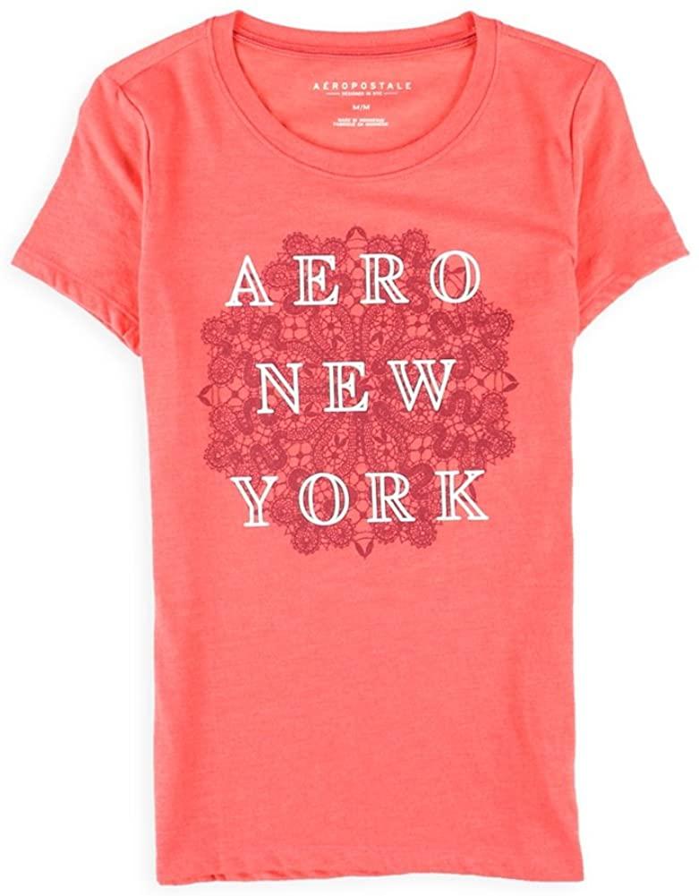 AEROPOSTALE Womens Stacked New York Graphic T-Shirt