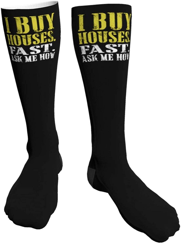 Blessed Grandma 1 Thick Socks Men & Women Knee High Socks Athletic Tube Socks
