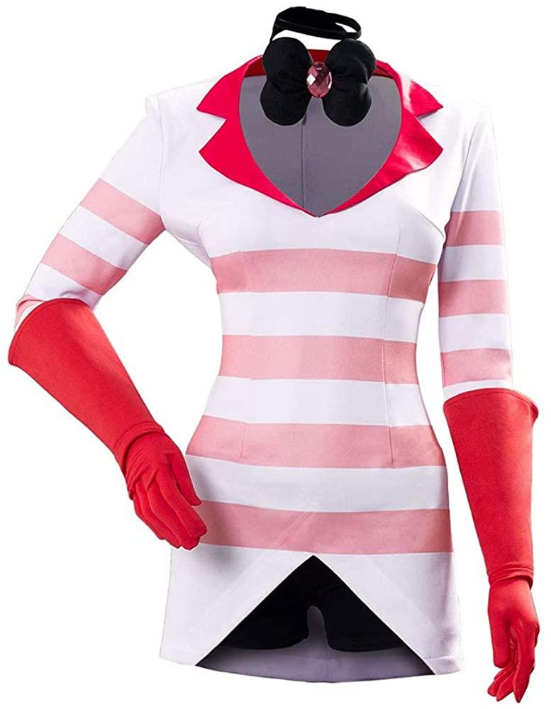 Hazbin Hotel Charlie Vaggie Halloween Cosplay Costume Hazbin Hotel Alastor Anime Cool Outfit Suit for Men Women Role Play