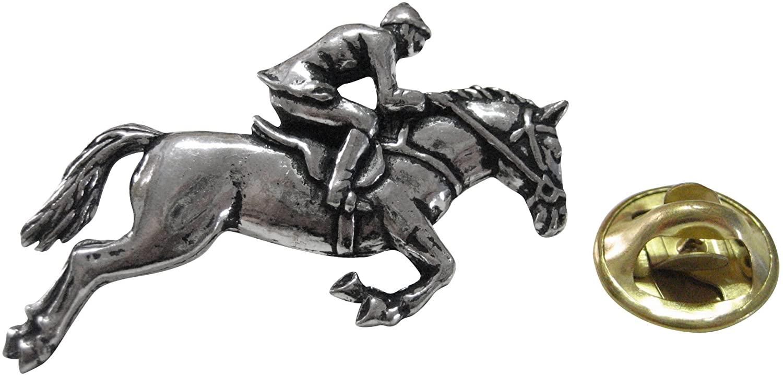 Kiola Designs Horse Racing Lapel Pin