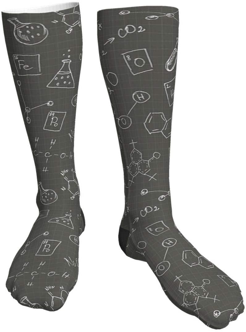 antcreptson Chemistry Doodles Womens Socks Thermal Heavy Thick Soft Warm Work Winter Socks