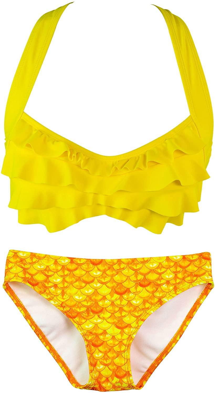 Fin Fun Sea Wave, Mermaid Bikini Set, Mermaidens Swimsuits and Swimwear