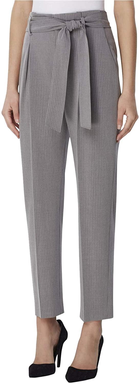 TAHARI Womens Paperbag Casual Trouser Pants