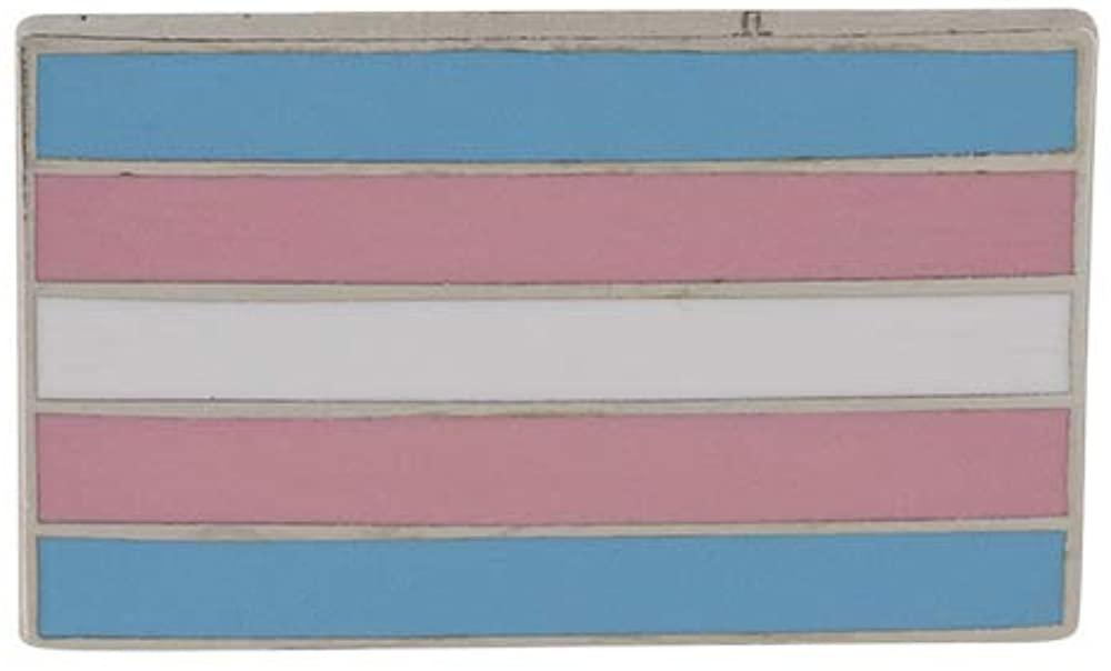 WizardPins Transgender Pride Standard Rectangle Flag LGBTQIA+