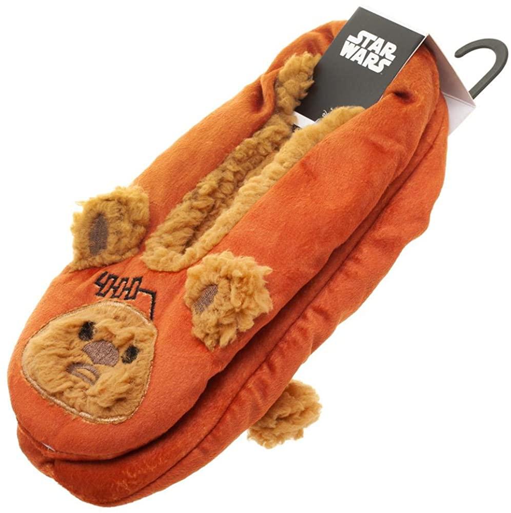 Star Wars 3D Ewok Ears Slipper Socks - 4-Pack