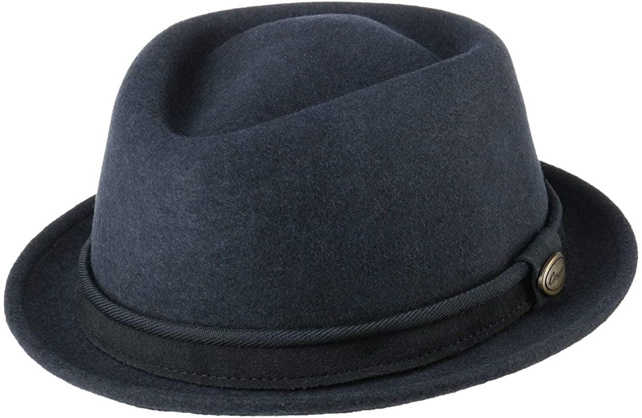 Lierys Lennaron Pork Pie Wool Hat Women/Men - Made in Italy