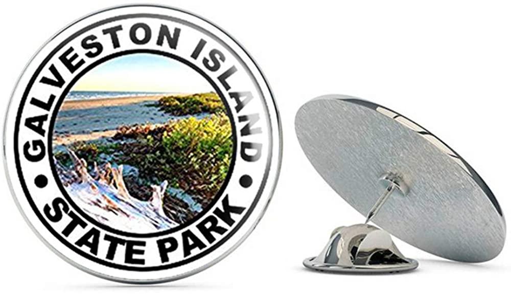 NYC Jewelers Round Galveston Island State Park (Texas t Metal 0.75