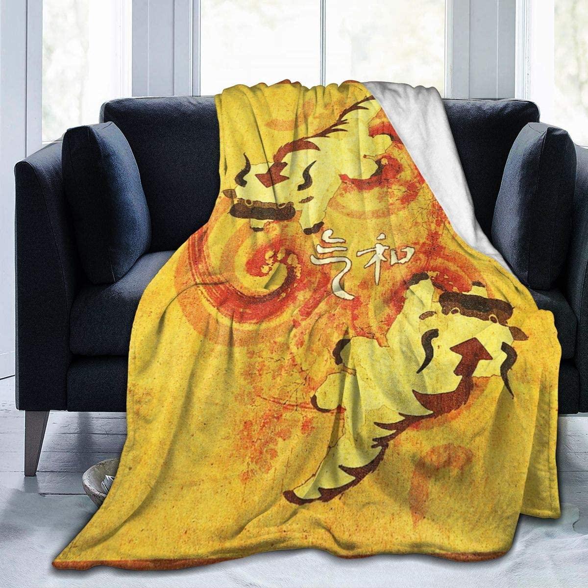 Upd First Flannel Blanket Multi-Styles Avatar The Last Legend Airbender Atla Comics Anime Manga Air Lightweight Flannel Fleece Velvet-Plush All-Season Throw for Bed/Couch 50