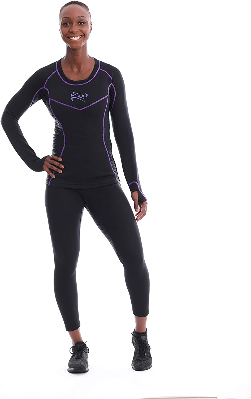 Kutting Weight Sauna Suit Long Sleeve Shirt for Women